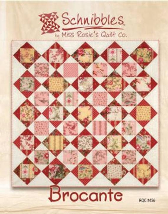 brocante schnibbles quilt pattern miss rosies quilt co Modern Miss Rosie Quilt Patterns