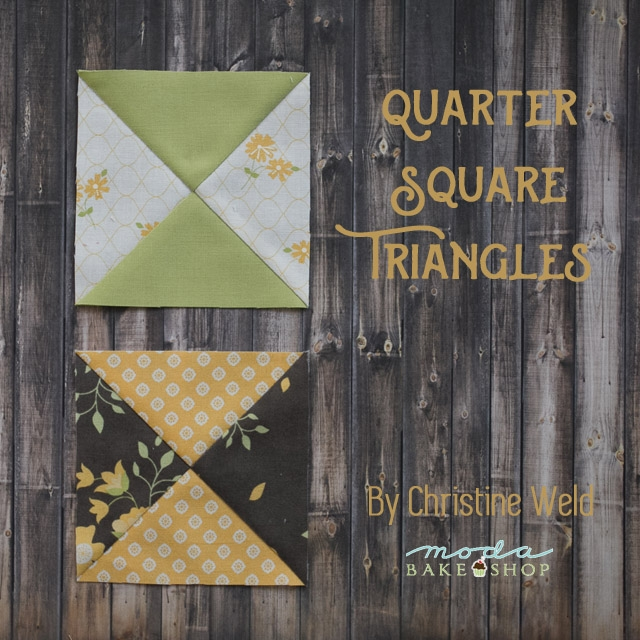 building blocks quarter square triangles moda bake shop Cool Quarter Square Triangle Quilt Gallery