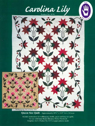 carolina lily at from marti featuring quilting with the Elegant Carolina Lily Quilt Pattern Gallery