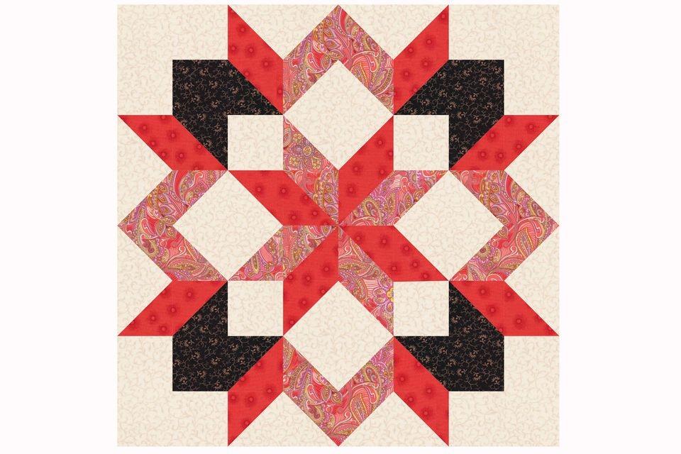 carpenters star quilt block pattern Elegant 16 Inch Quilt Block Patterns Inspirations