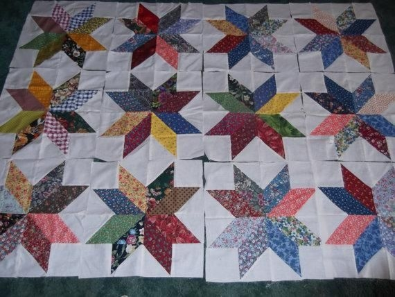 charm pack starmakes a 16 inch block via craftsy free Elegant 16 Inch Quilt Block Patterns Inspirations
