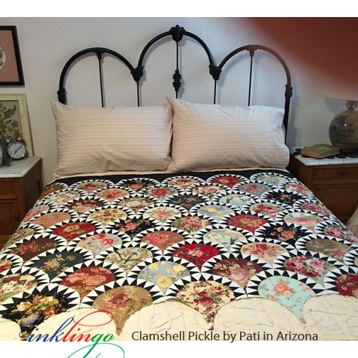clamshell pickle 9 inch Cool Pickled Clamshell Quilt Pattern Inspirations
