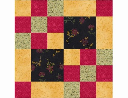 classic nine patch quilt block patterns Interesting Square Block Quilt Patterns Gallery