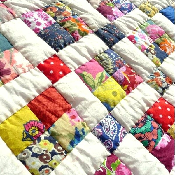 confetti handmade hand stitched quilt king 4 big stitch hand Elegant Sewing Quilts For Dummies