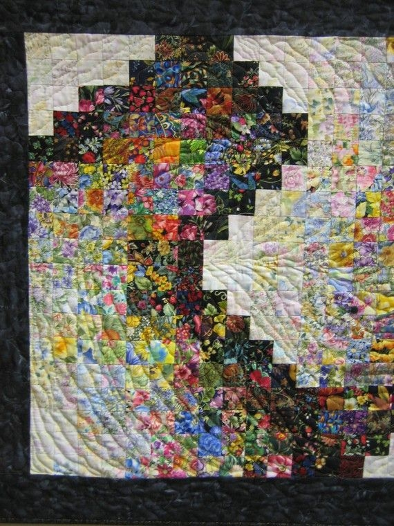 contemporary art quilt playing around abstract wall Modern Contemporary Art Quilt Patterns Inspirations