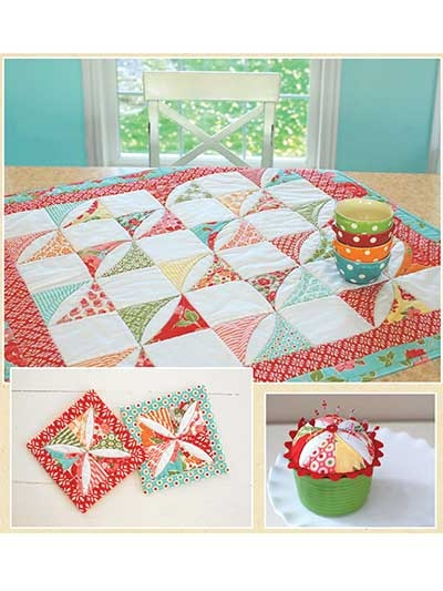 cotton way candy table accessories sewing pattern Modern Cotton Candy Quilts & Sewing Gallery