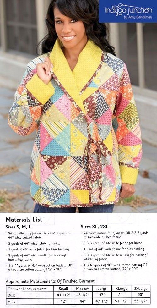 cozy quilted jacket pattern sewing quilting and such Stylish Quilted Clothing Patterns Inspirations