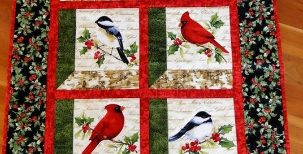 create your own bird garden in this window pane wall quilt Cool Window Pane Quilt Pattern Inspirations