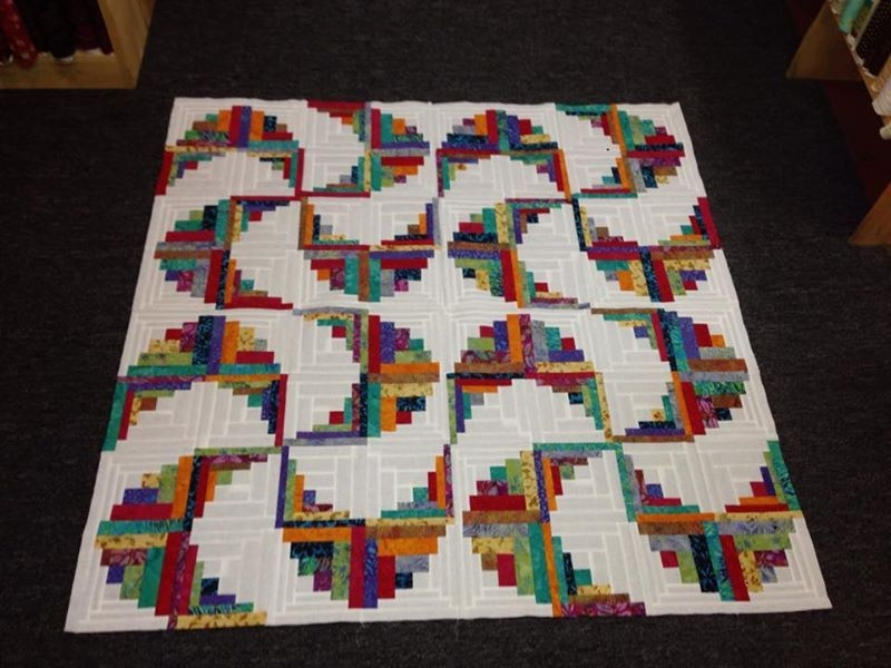 curved log cabin quilts log cabin quilt pattern log Unique Log Cabin Quilt Pattern Variations Gallery