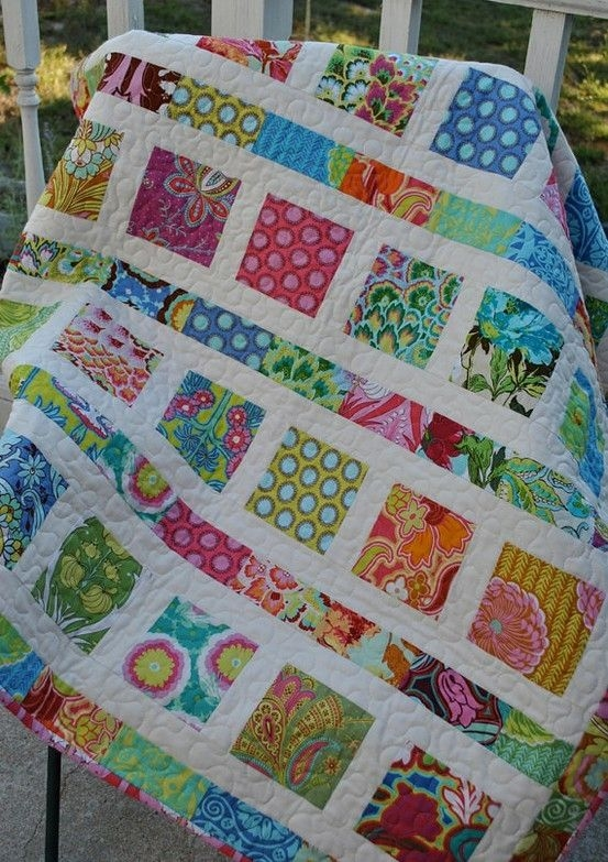 cute charm quilt who needs a pattern the size would have Interesting Jelly Roll And Charm Pack Quilt Patterns Inspirations