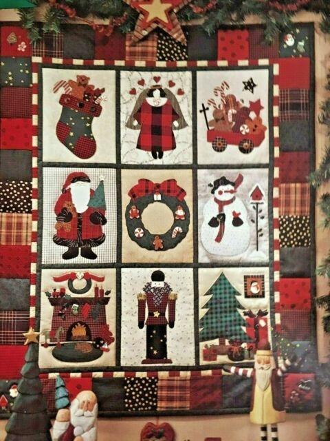 debbie mumm visions of christmas wall quilt pattern 31x37 uncut vintage 1994 Interesting Debbie Mumm Quilt Patterns Inspirations