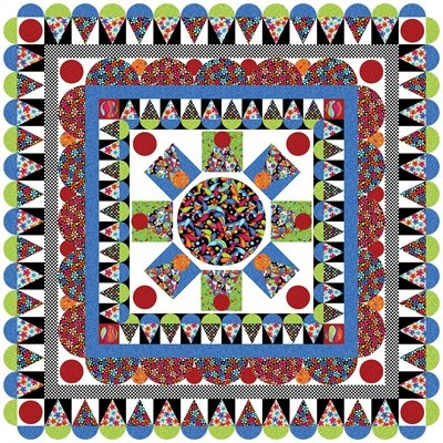delightful daisies quilt pattern the whimsical workshop Whimsical Quilt Patterns Inspirations