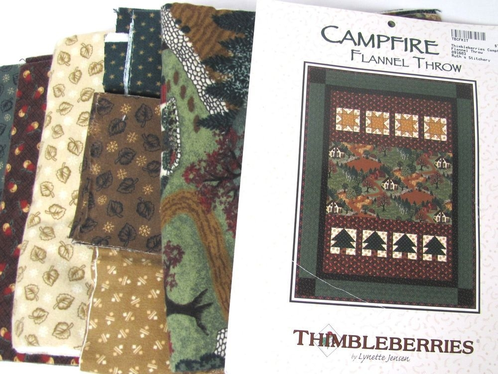 details about new thimbleberries campfire flannel throw Elegant New Thimbleberries Quilt Fabric Gallery