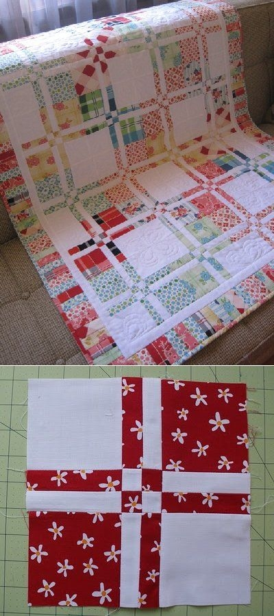 disappearing 4 patch tutorial quilts quilts quilts 4 Interesting Disappearing 4 Patch Quilt Pattern