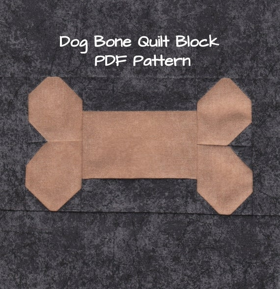 dog bone quilt block pdf pattern Elegant Quilt Pattern For A Dog Bone