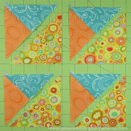 double star quilt block tutorial 75 10 125 and 15 Cool Quilt Patterns Using 3 Fabrics Gallery