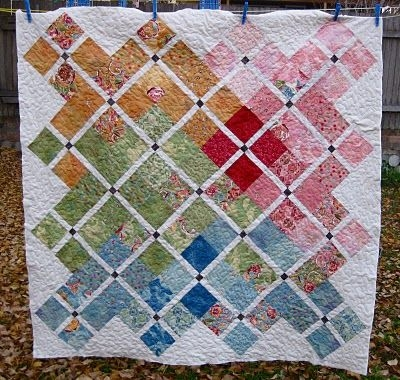 doubly charming charm pack quilt tutorial one charm pack Cool Quilt Patterns With Charm Packs Gallery