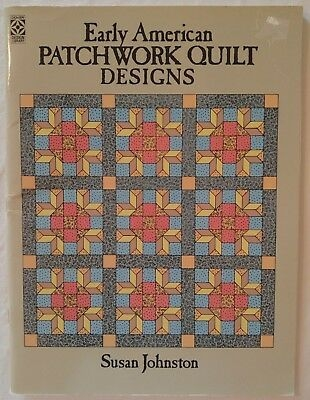 dover quilt pattern book early american patchwork designs susan johnston Stylish American Patchwork Quilting Patterns Gallery