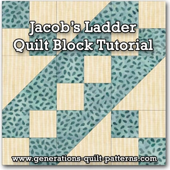 easy jacobs ladder quilt block instructions for 45 6 Modern Jacobs Ladder Quilt Pattern