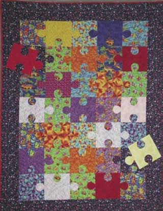 easy quilt pattern puzzle quilt block Elegant Jigsaw Puzzle Quilt Pattern Gallery