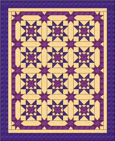 easy quilt patterns you cant live without and they are fun Modern Amish Quilt Block Patterns