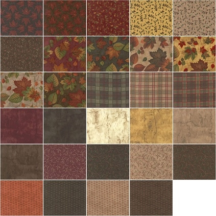 endangered sanctuary flannels charm moda precuts quilt in Stylish Flannel Quilting Fabric Gallery