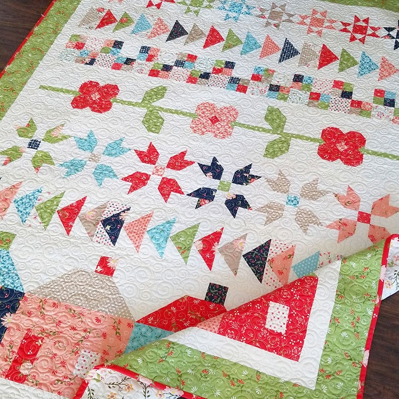 family farm fat eighth quilt a quilting life Cool Fat Eighth Quilt Pattern Gallery
