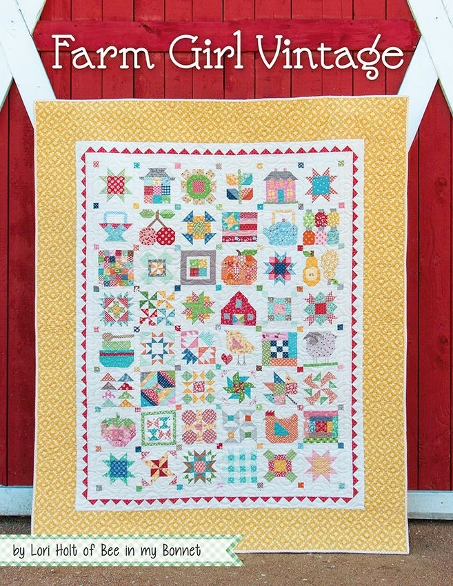 farm girl vintage book lori holt of bee in my bonnet for Cool Vintage Valentine Quilt Kit Gallery