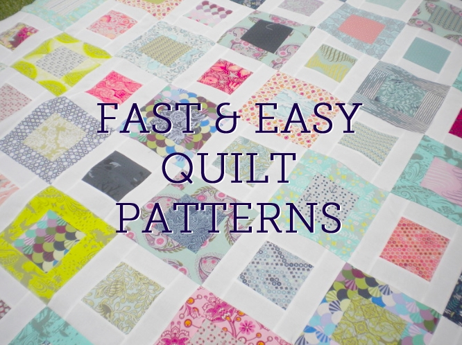 fast and easy quilt patterns right here on bluprint Stylish Easy Quilt Patterns Inspirations
