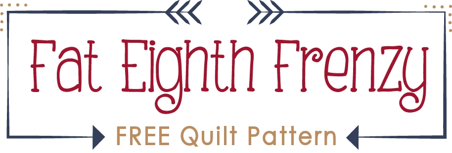 fat eighth frenzy free quilt pattern with fat quarter shop Cool Fat Eighth Quilt Pattern Gallery