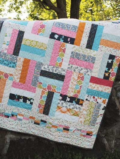 fat quarter quilt patterns lap quilt throw designs page 1 Cozy Easy Quilt Patterns Using Fat Quarters Gallery