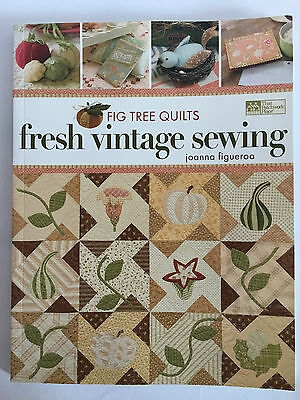 fig tree quilts fresh vintage sewing joanna figueroa quilt sewing applique 744527109661 ebay Cozy Fig Tree Quilts Fresh Vintage Sewing