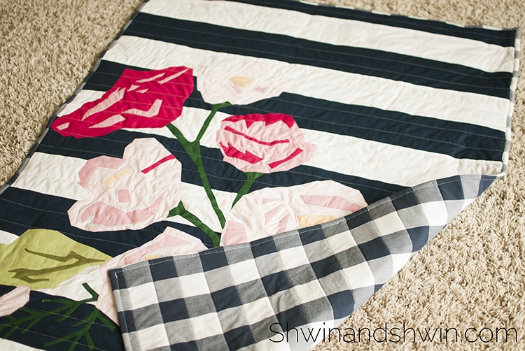floral quilt applique pattern shwin and shwin Modern Floral Applique Quilt Patterns Gallery