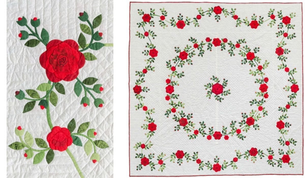 flower quilts 3 ways ruched flowers how to stitch this Interesting Applique Quilt Patterns Flowers