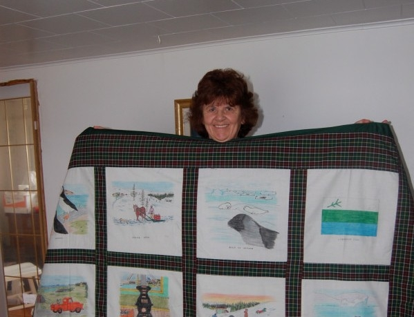 flowers cove newfoundland quilts intangible cultural Cool Newfoundland Haritage Quilt Patterns Gallery