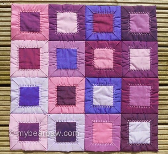 folded patchwork tutorial mybearpaw blog jo avery Cozy Fold And Sew Quilting Method Gallery
