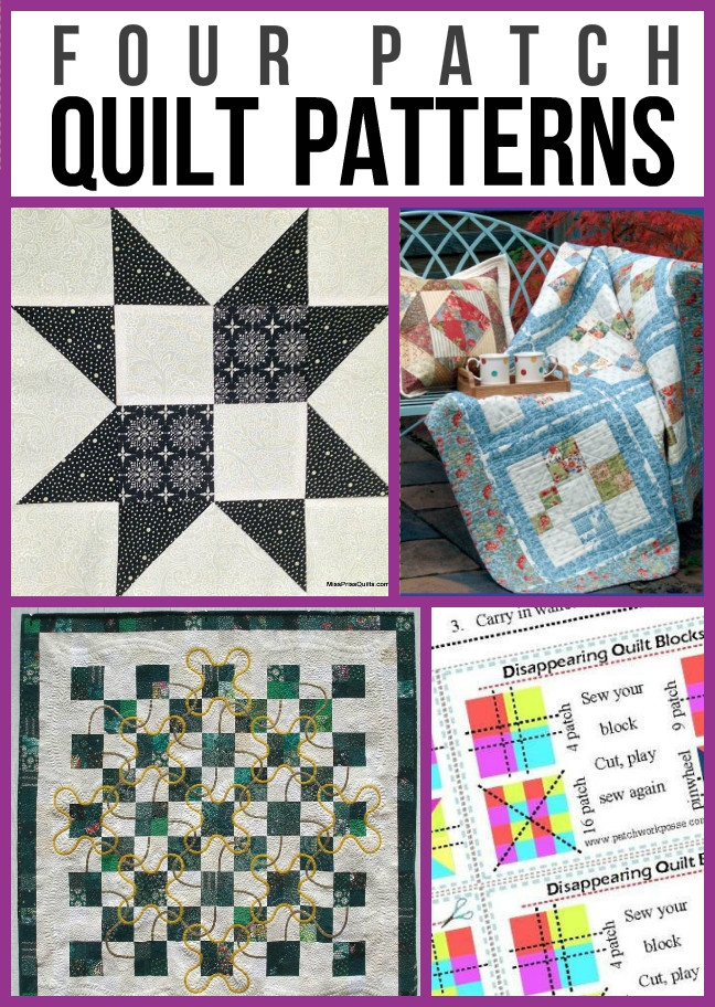 four patch quilt patterns for beginners Cool Four Patch Quilt Block Patterns Inspirations