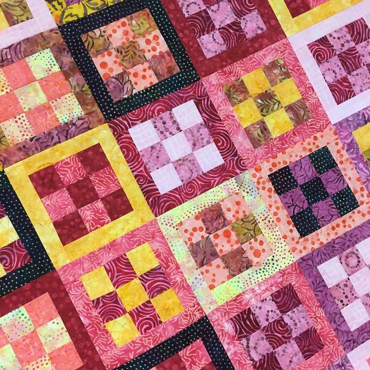 framed nine patch quilt block tutorial Unique Nine Patch Quilt Patterns Inspirations
