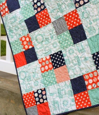 freaky fast four patch quilt modern quilt patterns charm Interesting 4 Inch Square Quilt Pattern