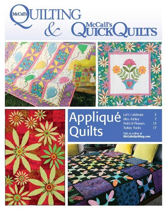 free applique quilt patterns from mccalls quilting instant Interesting Mccalls Quilting Patterns Free
