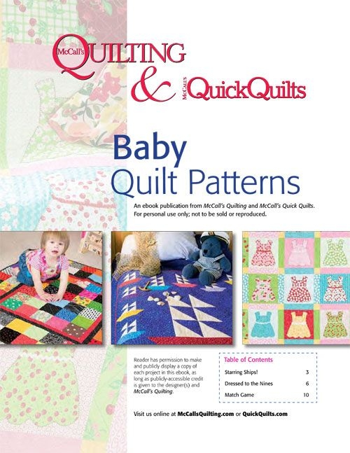 free ba quilt patterns from mccalls quilting instant Interesting Mccalls Quilting Patterns Free