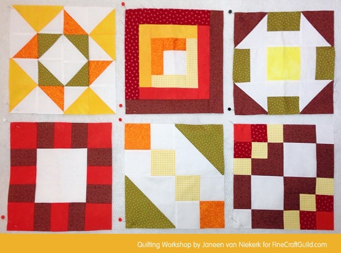 free domino quilt block pattern workshop 24 Cool Quilt Block Patterns For Beginners