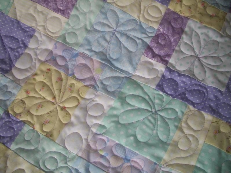 free hand quilting patterns for beginners stenciling a Cozy Easy Hand Quilting Patterns