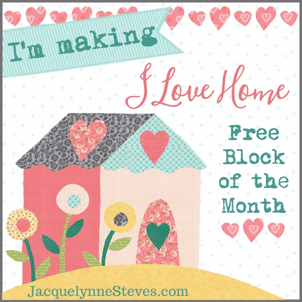free house quilt block 2 for the i love home free block of Elegant House Quilt Block Pattern Gallery