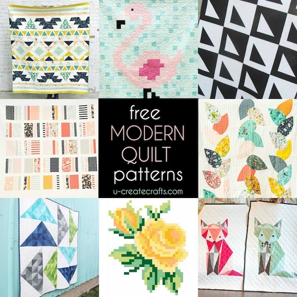 free modern quilt patterns u create Cool Contemporary Quilting Patterns