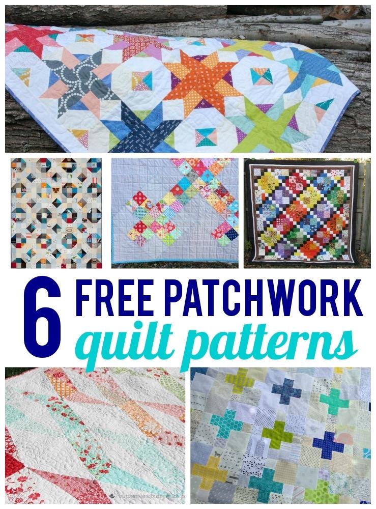 free patchwork quilt patterns on bluprint Stylish Patchwork Quilt Patterns Free Inspirations