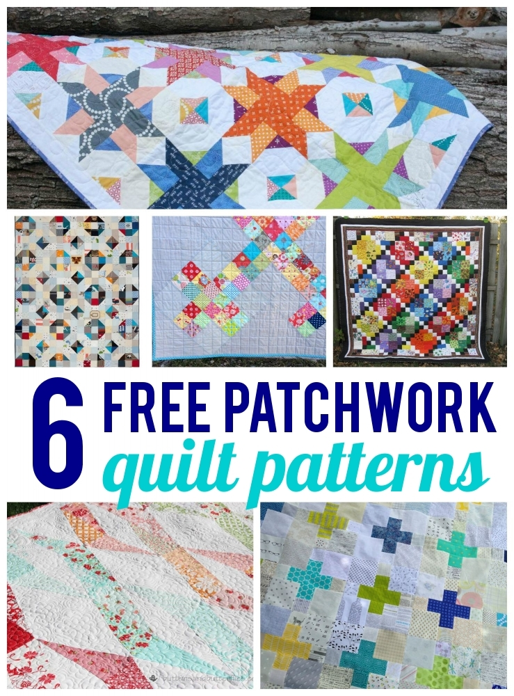 free patchwork quilt patterns on bluprint Unique Patchwork Quilts Patterns