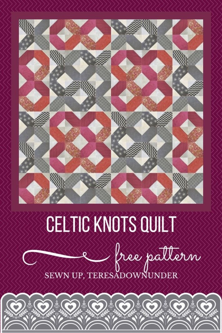 free pattern celtic knots quilt quilting ideas celtic Unique Celtic Knots Quilt Pattern