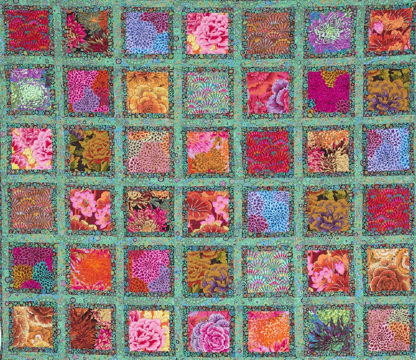free pattern jewel frames quilt kaffe fassett and liza Interesting Picture Frame Quilt Pattern Inspirations
