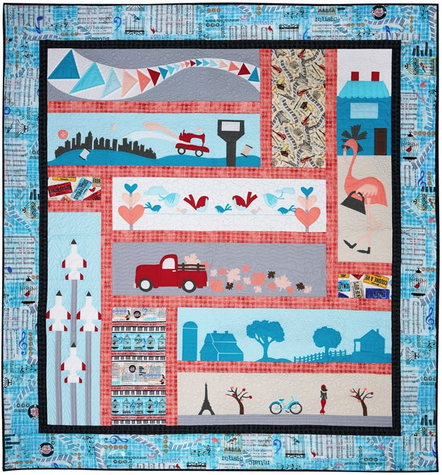 free pattern row row on the go tote Row By Row Quilt Patterns Inspirations
